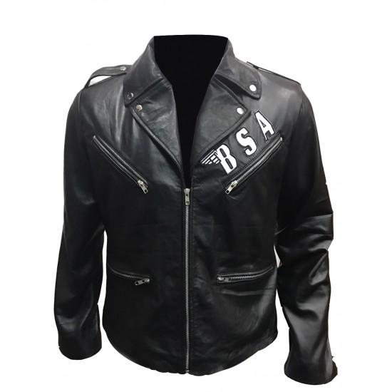 George Michael BSA Faith Rockers Revenge Real Leather Jacket