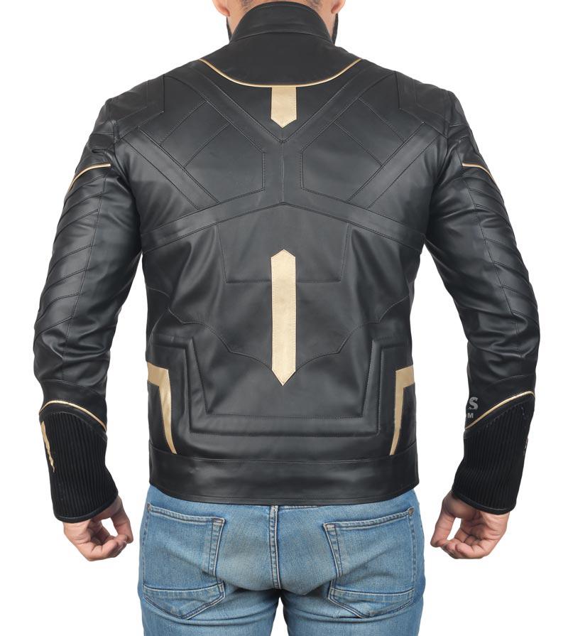 Black Panther Killmonger Michael B Marvel Leather Jacket