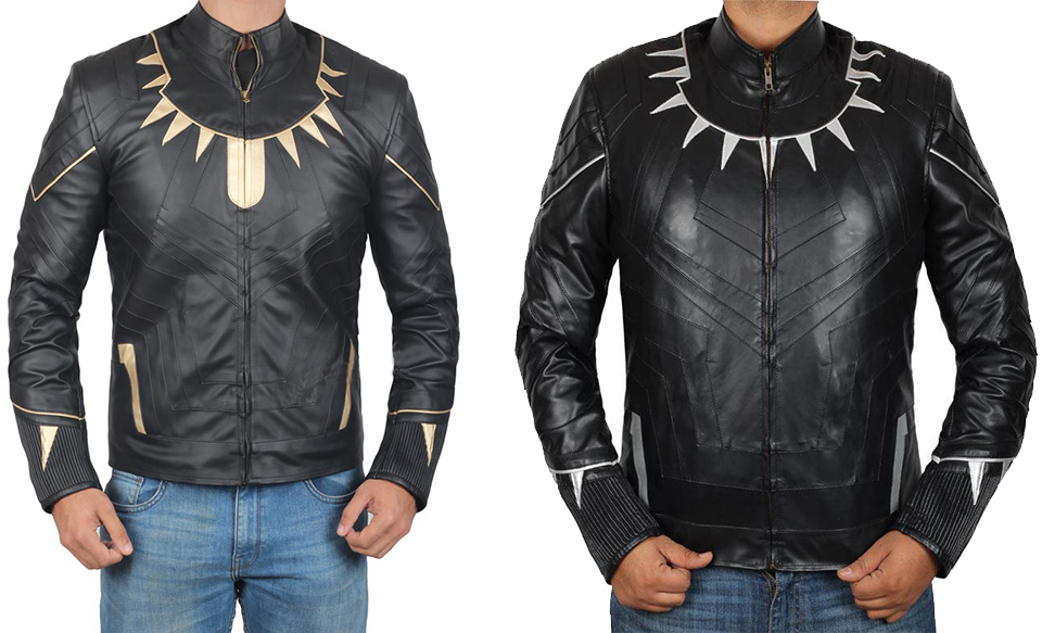 Black Panther Killmonger Michael B Marvel Leather Jacket