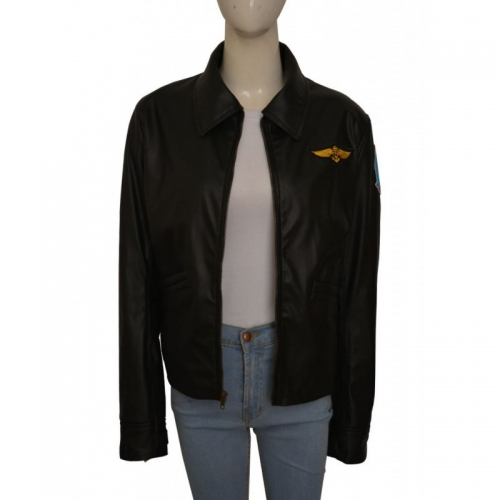 Kelly Mcgillis Top Gun Jacket