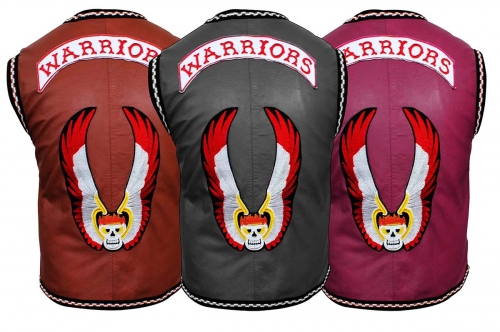 The Warriors Movie Leather Vest